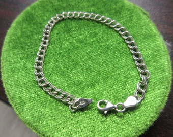 Sterling Silver Small Charm Bracelet