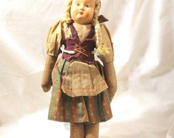 Polish  Ethnic Cloth Doll