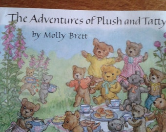 The Adventures of Plush and Tatty Vintage Book by Molly Brett
