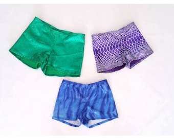 Matching Mermaid Shorts For Swimmable Mermaid Tails.
