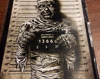 The Mummy Mugshot