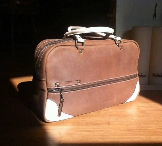 Overnight Handbag, Leather Handbag, Doctor Bag, Day Bag, Sport Bag, Duffle Leather Bag,