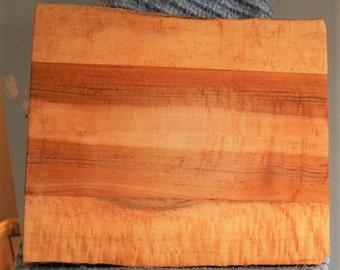 Birdseye Maple live edge cutting board