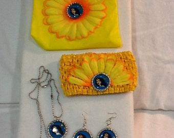 Character Headband and Jewelry Set