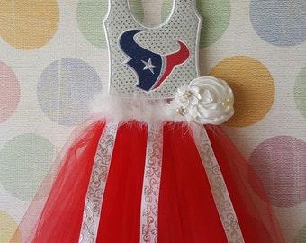 """Texans"""" Hair bow Holder"""