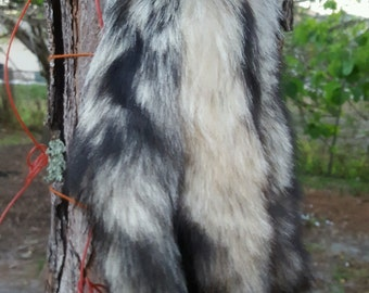 Kit Fox Tail Keychain Regular Fur