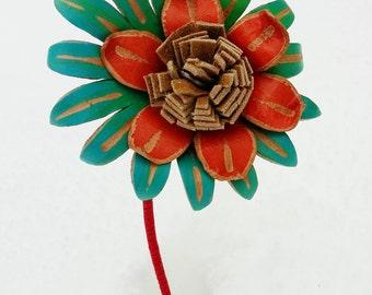 Leather Flowers in Perpetual Bloom *