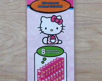 New Hello Kitty Sticker Party Pack~Set of 8 Sticker Sheets