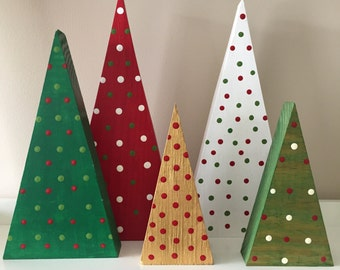 Simple Wooden Trees, Custom Colors