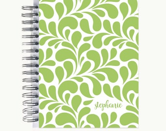 Daily Sidekick Planner – Personalized  | Monthly Calendar | To Do List | Hourly | Organizer | Agenda | Bound | Swirl