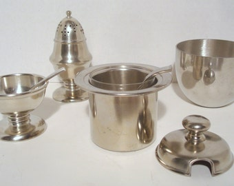 Vintage Grouping of Kirk Steiff and Monticello Pewter