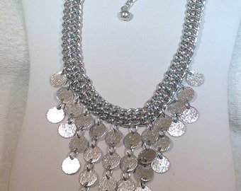 Sarah Coventry Bib  Necklace