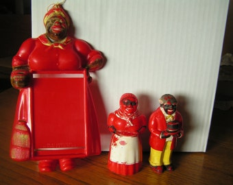 Mammy Note Pad and Shakers