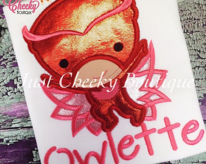 Owelette - PJ Masks Inspired Embroidered Shirt - Pj Masks Birthday Shirt - Bedtime Heroes Birthday Shirt - Disney Jr - PJ Masks Party