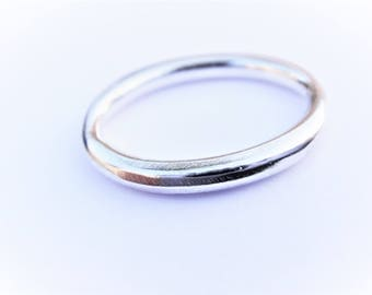 925 sterling silver oval ring charm, O ring , silver gold oval ring charm connector, sterling silver oval, oval ring, oval ring charm