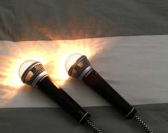 Microphone Pendant Light
