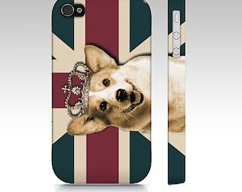 Welsh corgi phone case, corgi case, corgi mobile case, snap case for iPhone and Samsung Galaxy, snap case, slim case, corgi cell phone, dog