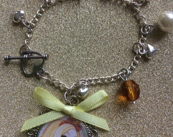 Apple white charm bracelet - ever after high charm bracelet