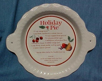 Hallmark Holiday Fruit Pie Baker