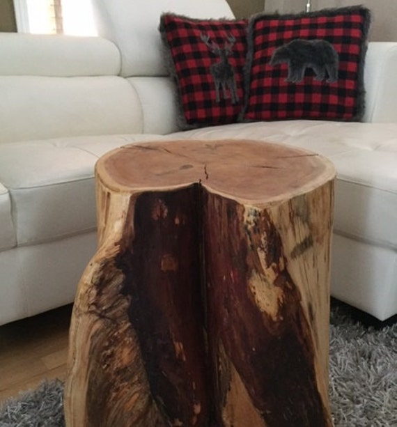 Large Tree Stump Coffee Table: Stump Tables Log Furniture Stump Coffee Table By