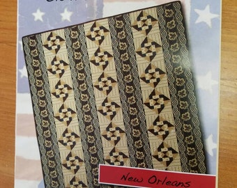 Civil War Quilt Pattern. Civil War Battle Series Quilt New Orleans Clothesline Quilts