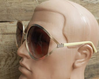 Vintage sunglasses Round Frame Sunglasses vintage goggles Soviet eyeglasses steampunk sunglasses retro spectacles