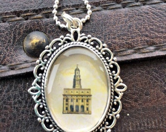 Navuoo Temple Cameo Necklace
