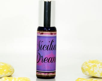 "Perfume ""Sicilian Dreams"", women perfume, perfume for women, citrus perfume, fruity perfume, fresh perfume"