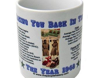 1948 Taking You Back In Time Coffee Mug