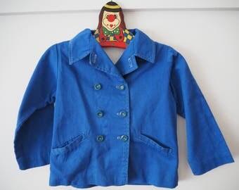 Children's 60's jacket coat 18m-2yrs