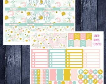 May Monthly Stickers for New Erin Condren Life Planner