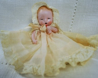 German Bisque Doll 4""