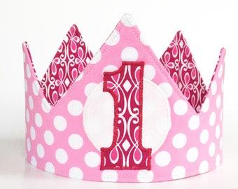 Girl first birthday crown, 1st birthday crown