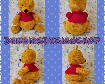 Winnie The Pooh Toy, Plushie, Doll, Stuffed Animal - Crocheted