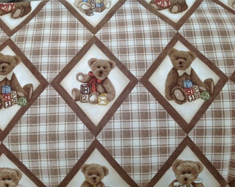 Boyd's Bears 100% Cotton quilting fabric