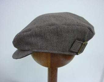 Newsboy Cap - Chocolate