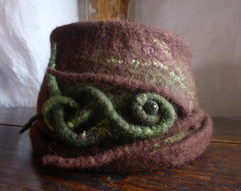 Tendrils & Earth Wool Hat