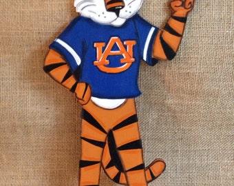 Auburn mascot ornament, Aubie ornament