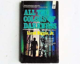 All The Colors of Darkness by Lloyd Biggle, Jr. (1963, Leisure Books) Vintage Science Fiction Paperback Book 1st Print