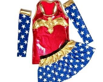 Wonder Woman running costume
