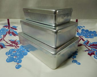 aagam aluminum storage containers - Metal Storage Containers