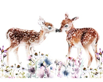 NEW - Meadow Fawns - A4