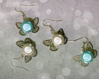 Fairy earrings different colors