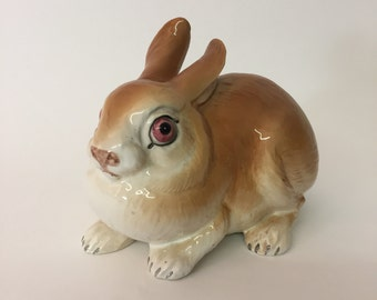 Sweet MCM Italian Ceramic Rabbit Coniglio Pottery