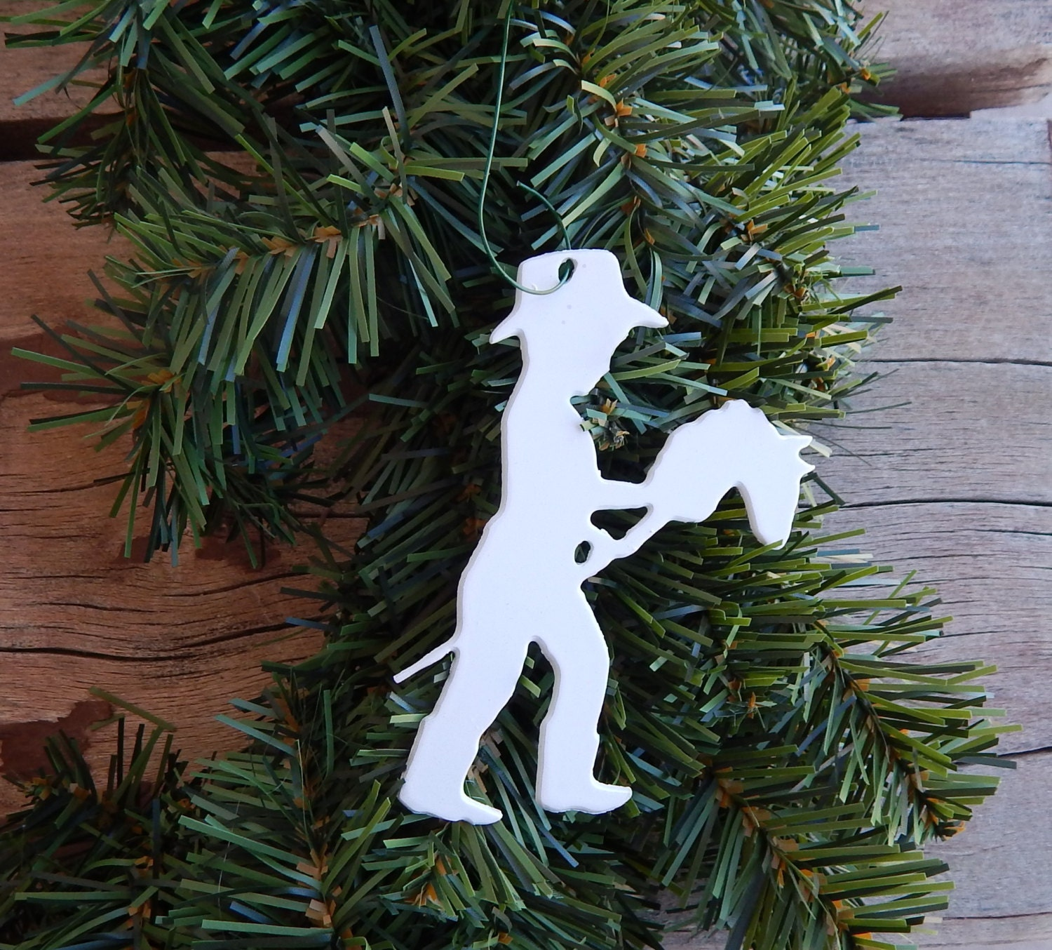 Stick Horse Rider,horse,gift Tag,cowgirl Christmas Ornament, Horse Ornament,cowboy  Christmas Ornament,western Christmas Ornament,