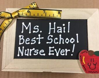 Teacher Gift  2740DC Ms, Hail Best School Nurse Ever! Supply Box