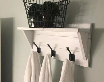 Farmhouse White Shelf