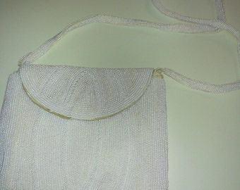 Vintage bead  evening bag