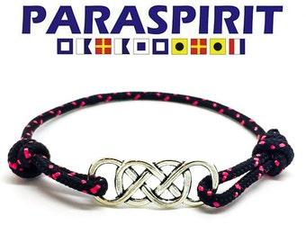 Paraspirit Celtic Adjustable Nautical Rope Bracelet