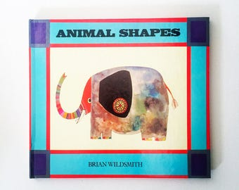 Animal Shapes / Brian Wildsmith / 1980 / First Edition/ Rare / vintage book/ collectable
